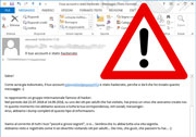 Segnalazione attività di spamming a scopo estorsivo su alcune caselle e-mail