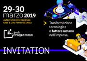 Partecipiamo a Imola Programma 2019