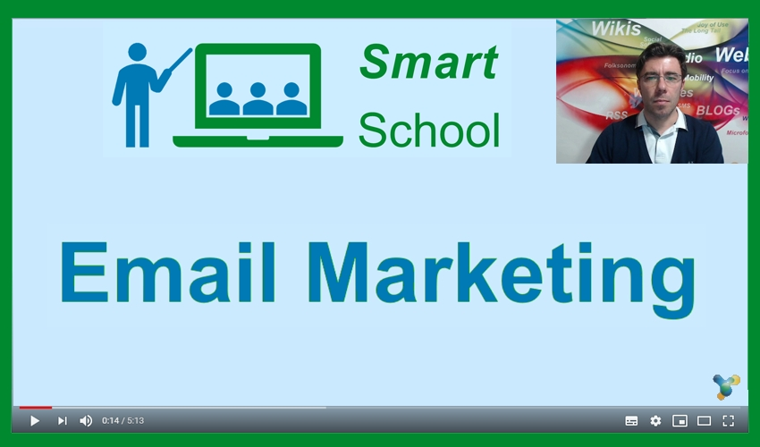 Fondamenti di email marketing - il primo video-corso della Progetto Aroma Smart School