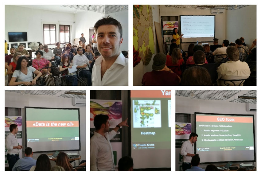 "Report dall'evento ""CREATIVITÀ vs DATA ANALYSIS: Guerra & Pace"" 2018"